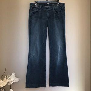 7 for all mankind dojo jeans in size 29